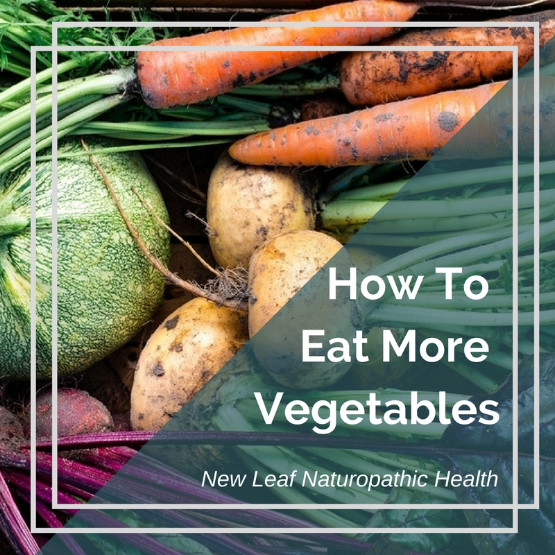 Nutritionist guide to eating more vegetables